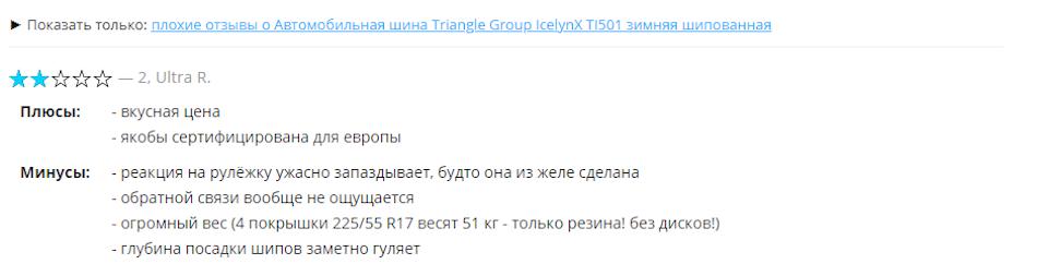 Обзор Triangle Group IcelynX TI501