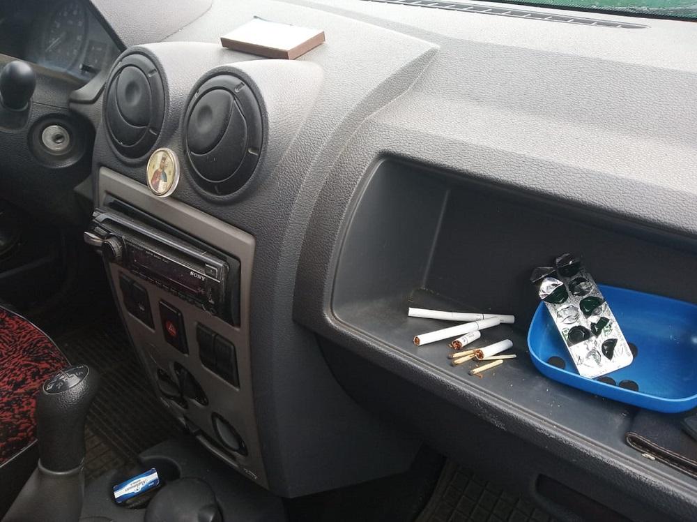Запах табака в авто