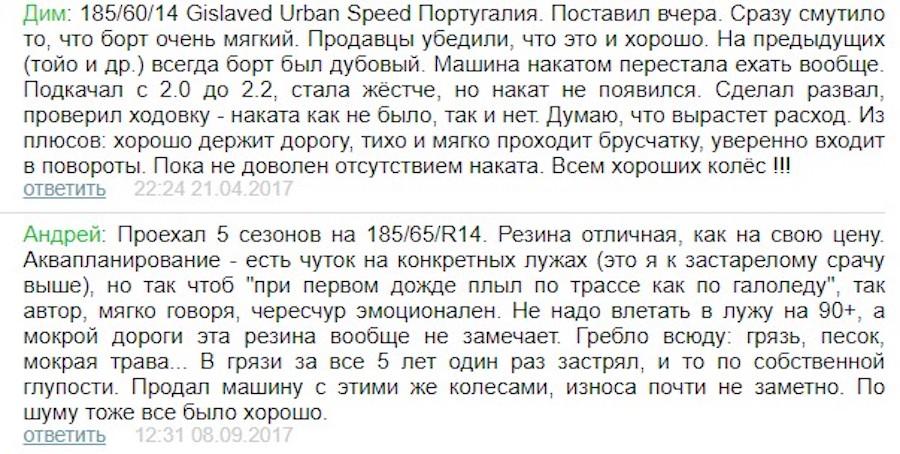 Шины Gislaved Ultra Speed