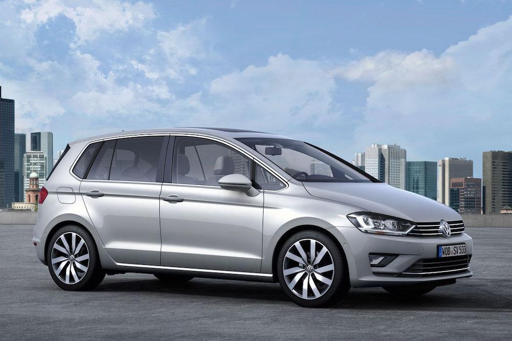 Внешний вид Volkswagen Golf Plus
