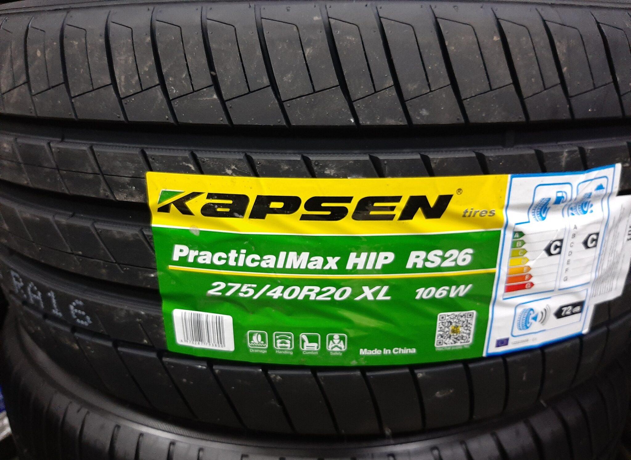 Автомобильная шина Kapsen RS26 Practical Max HP летняя
