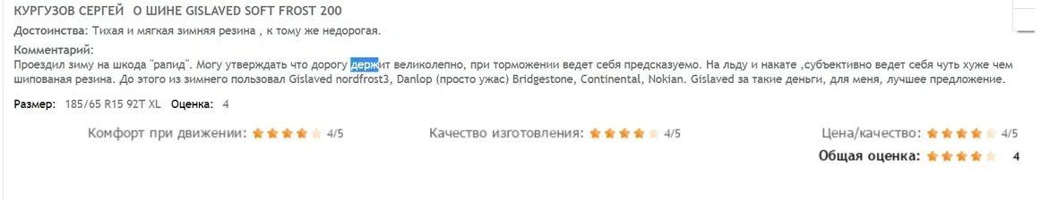 Гиславед софт фрост200