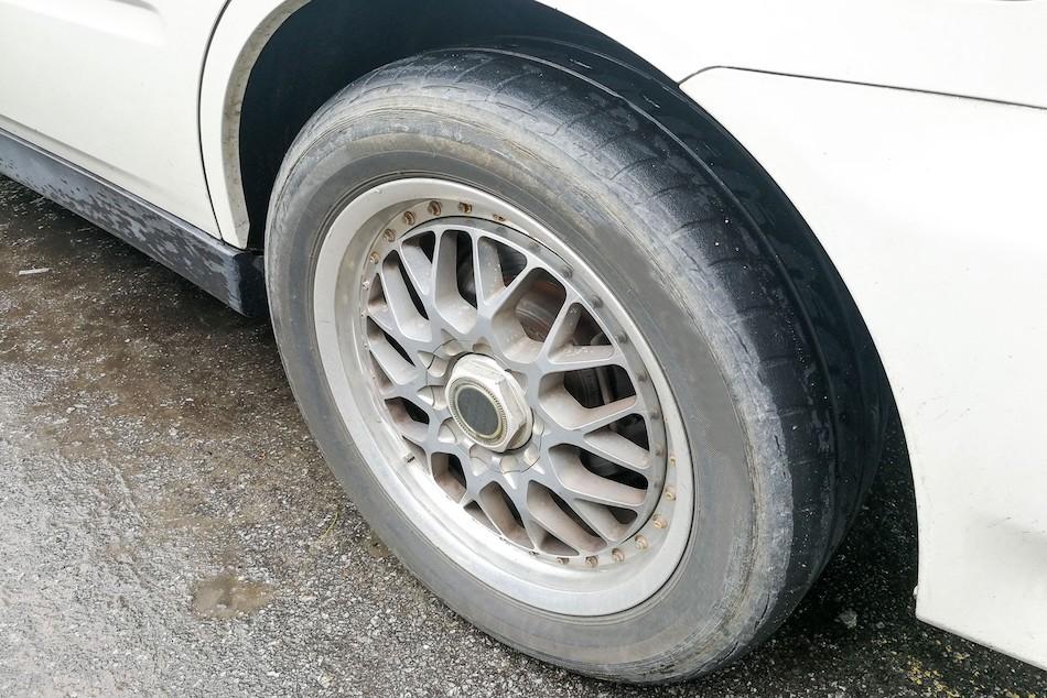 Как устранить деформацию колеса