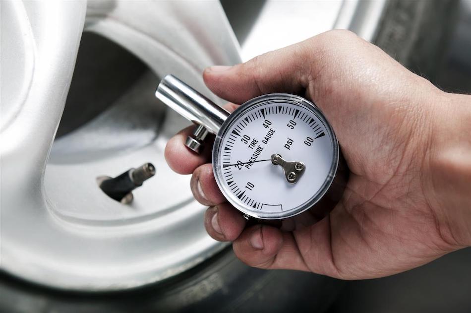 Норма давления в шинах
