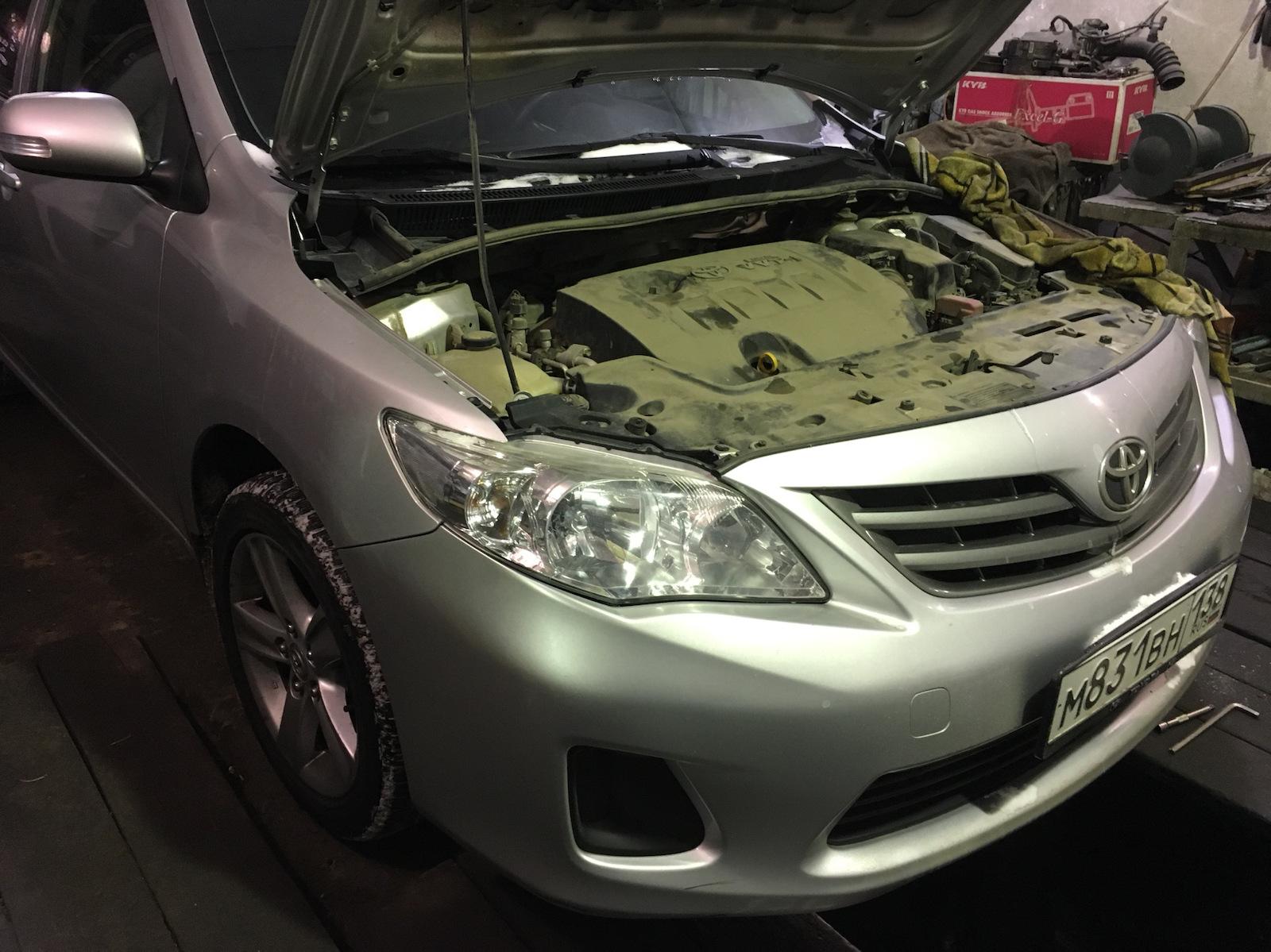 Замена масла АКПП «Тойота Королла»