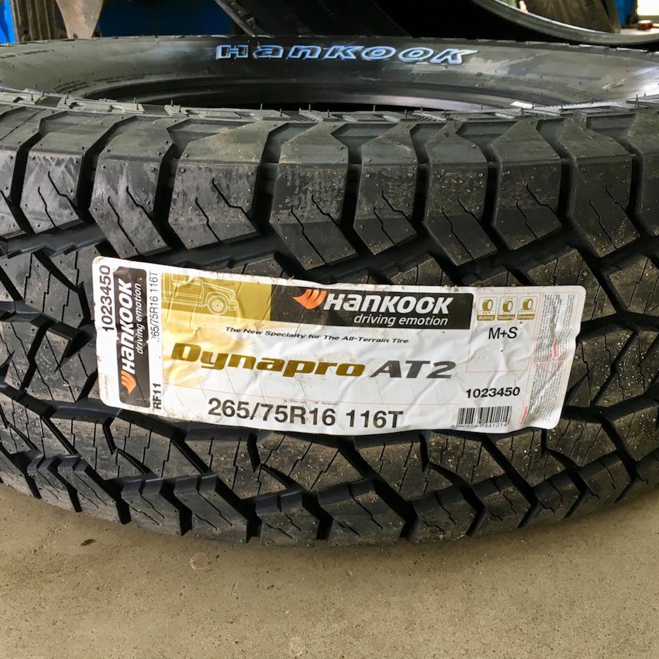 Hankook Tire Dynapro AT2 RF11