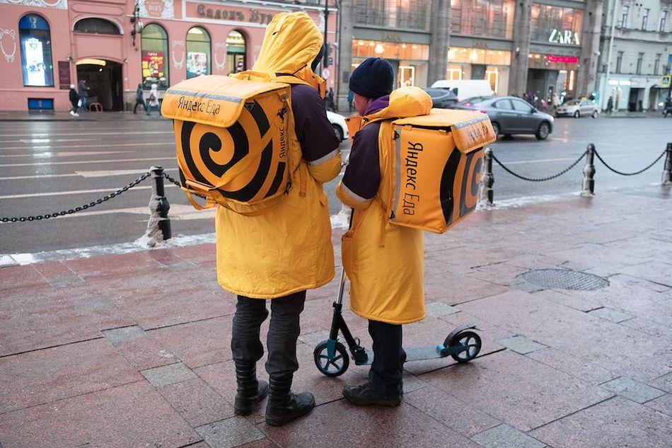 Доставка Яндекс Еда
