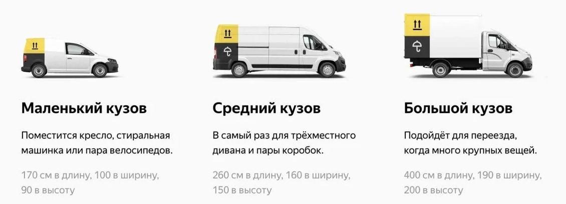 Разновидности авто для перевозки грузов