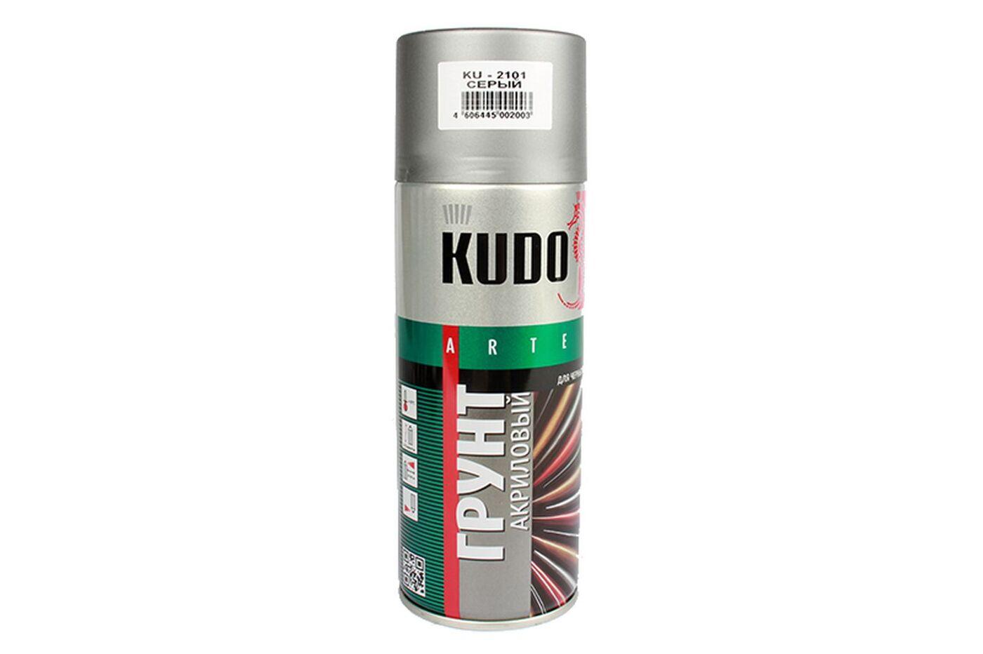 Аэрозольный грунт-наполнитель KUDO