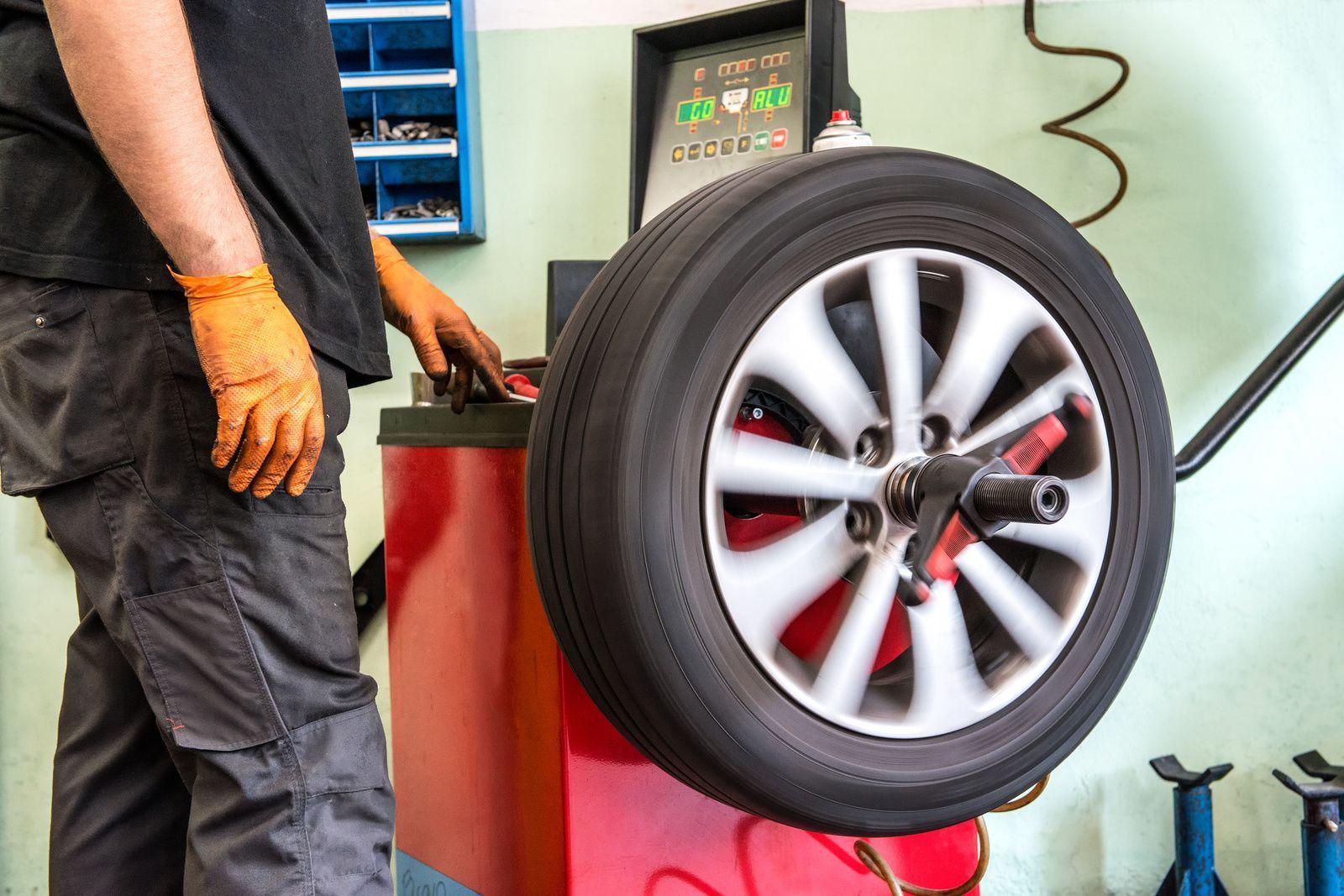 Балансировка автомобильных колес