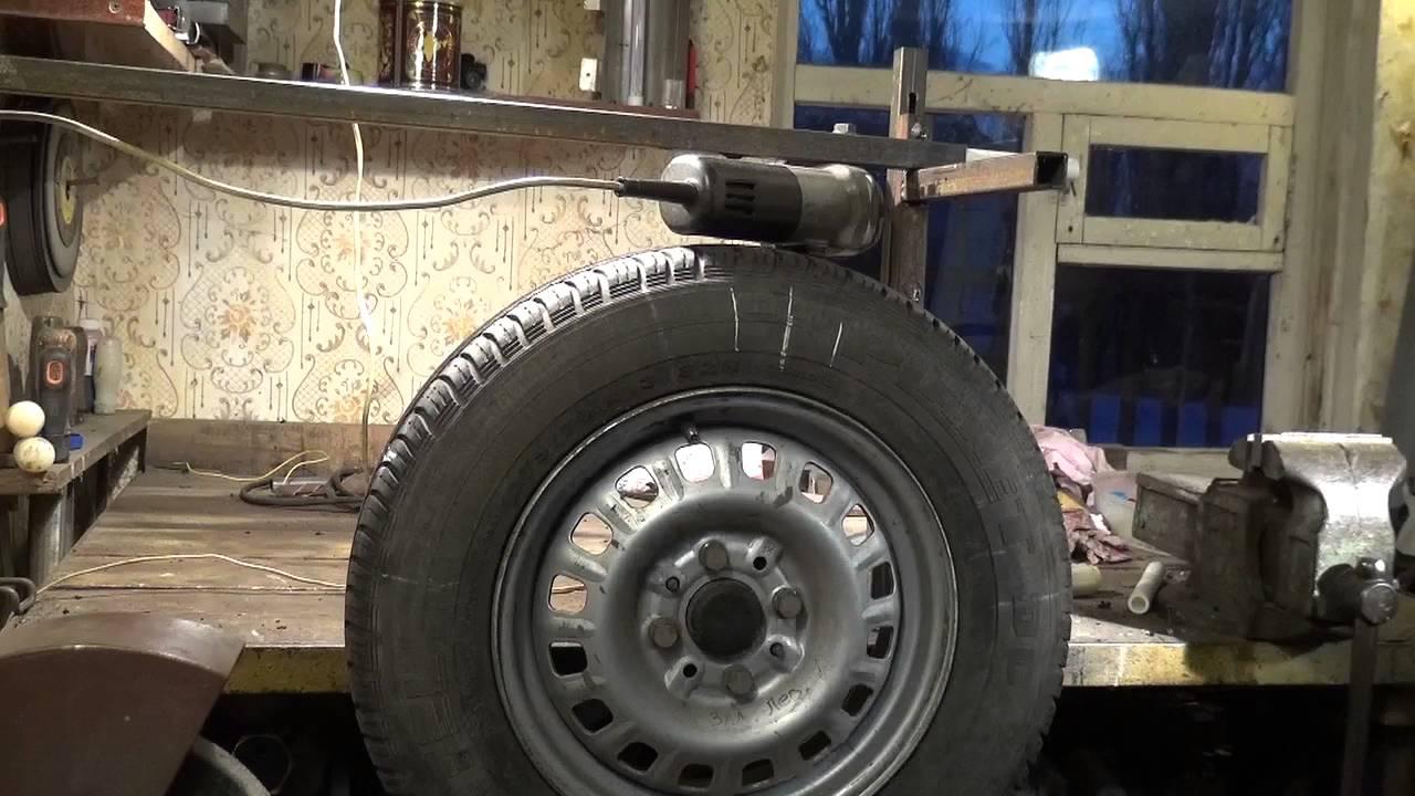 Балансировка колес своими руками с помощью грузиков