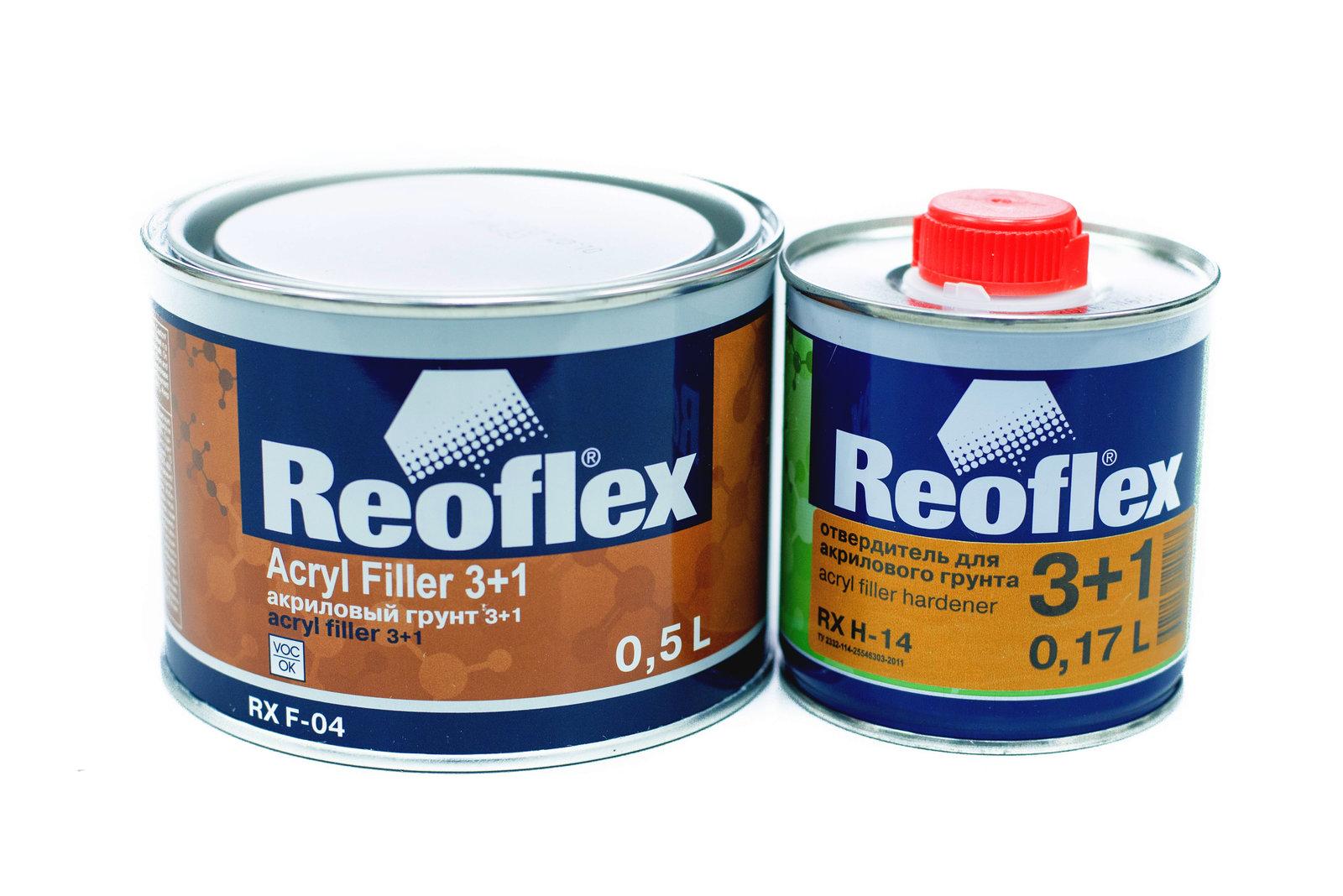 Грунт по пластмассе ReoFlex