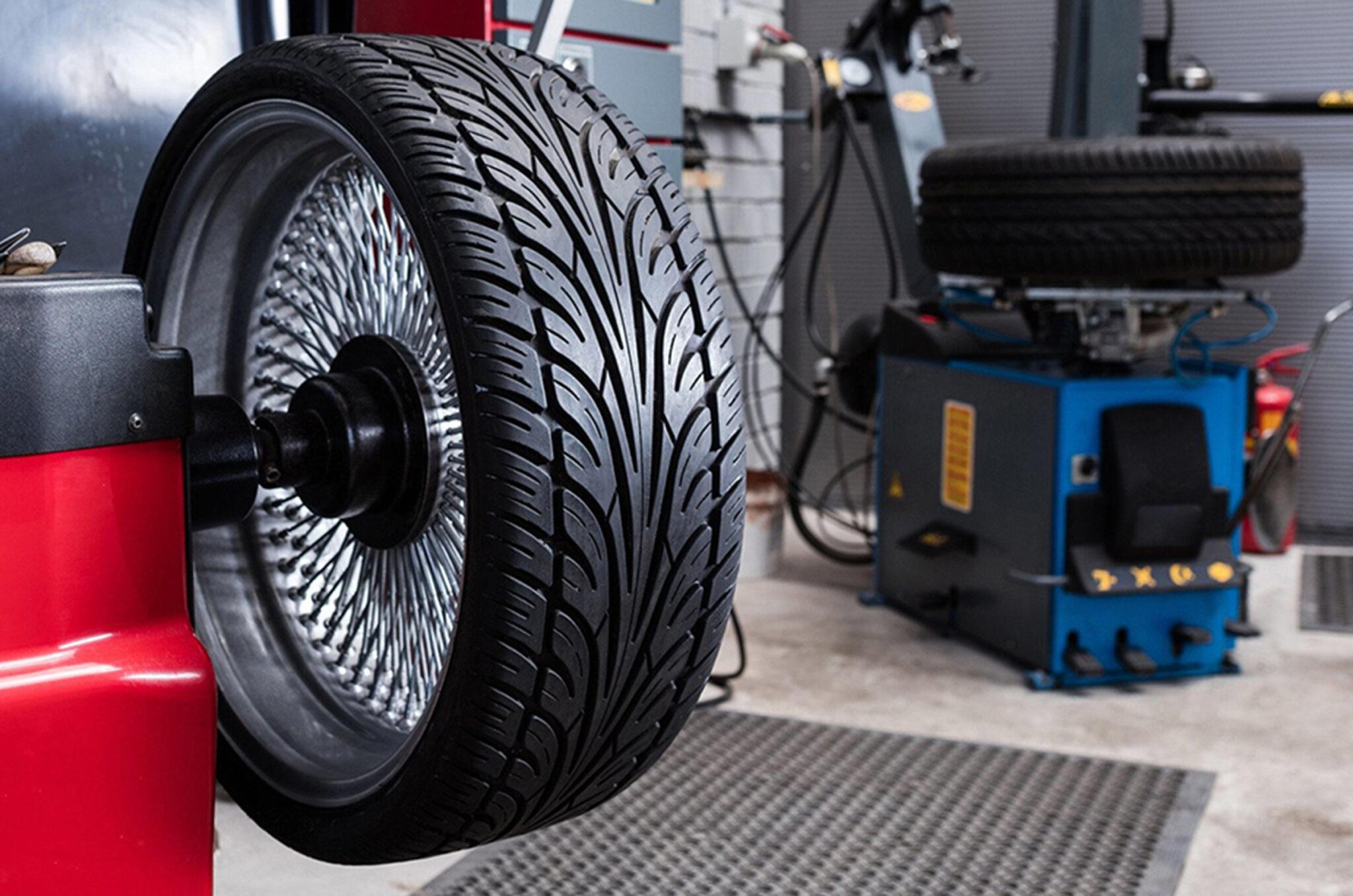 Как проходит балансировка колес