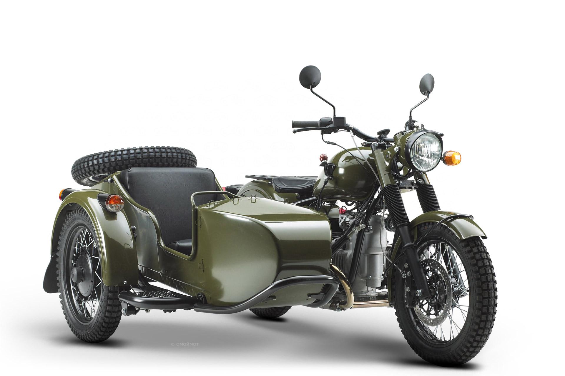 Новый мотоцикл Урал