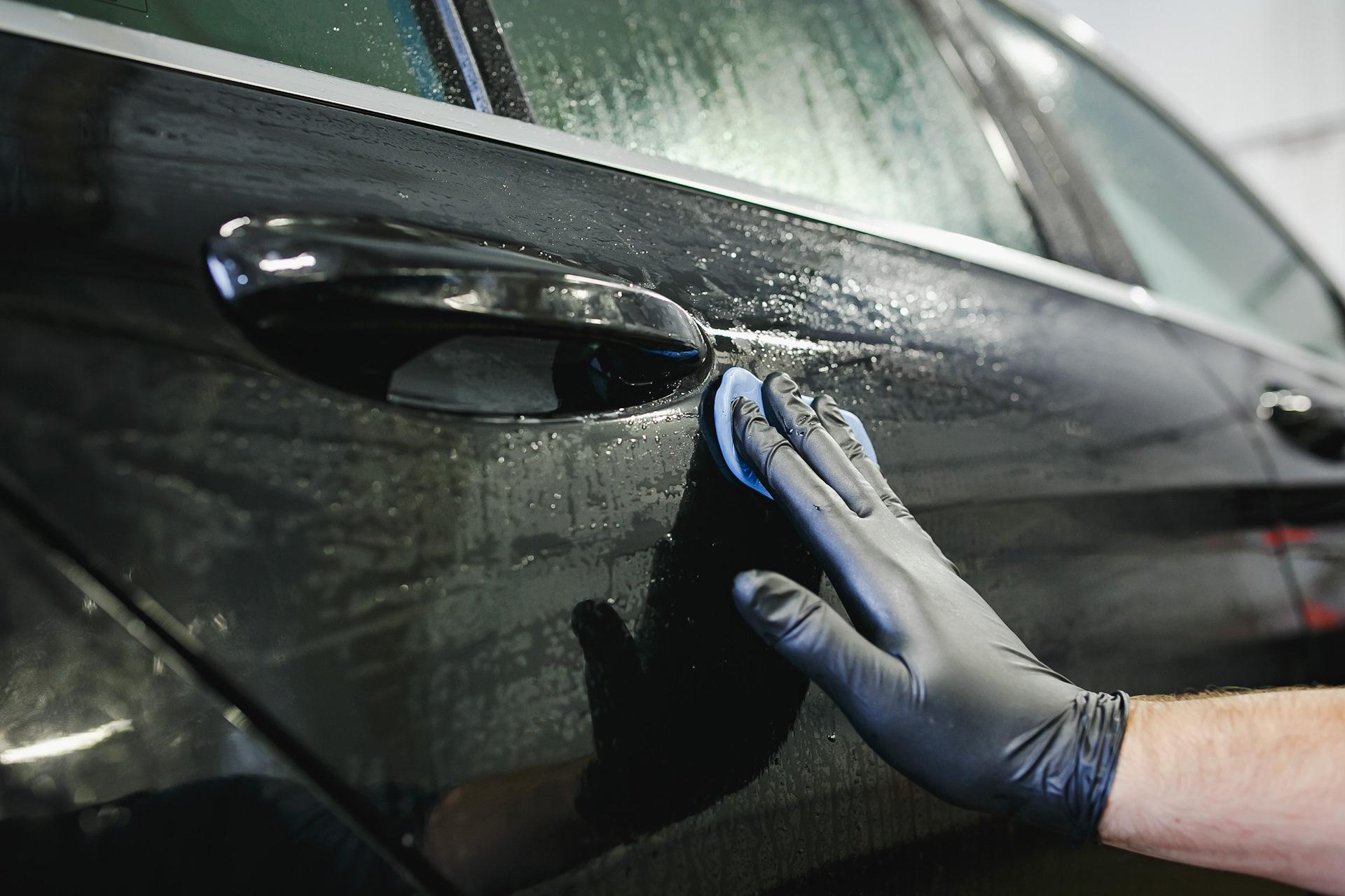 Очистка автомобиля