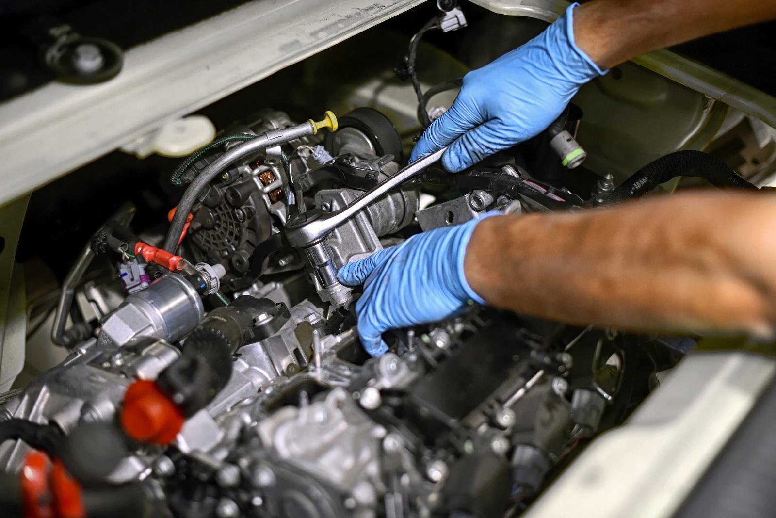 Поиск проблемы в двигателе