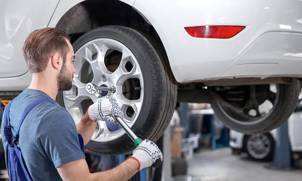 Признаки неправильной балансировки колес