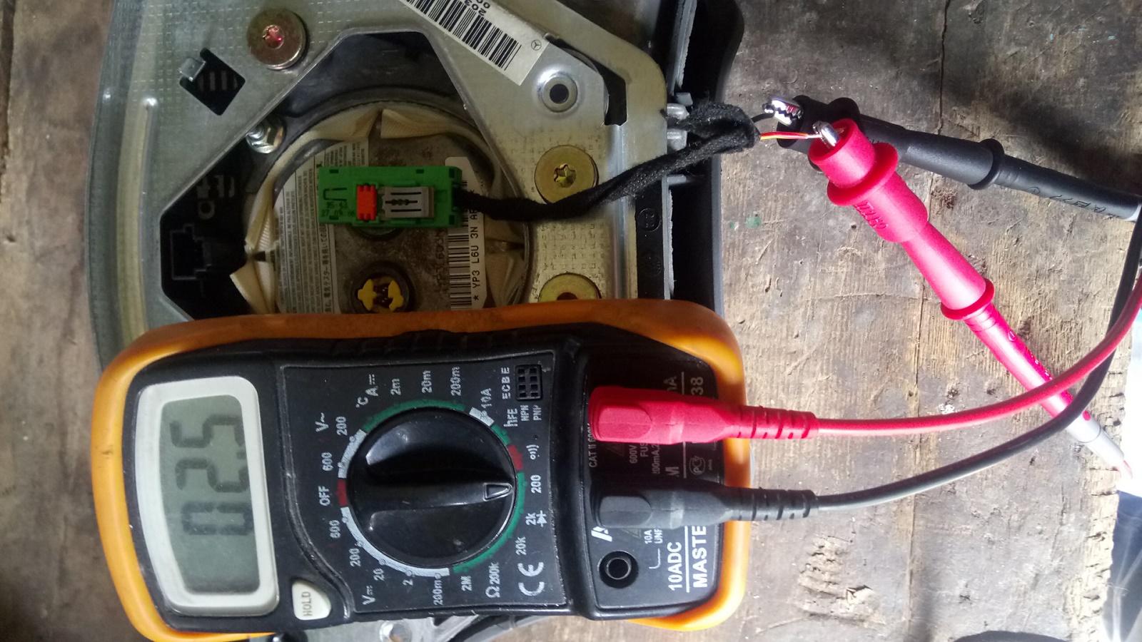 Проверка напряжения на устройствах системы зажигания