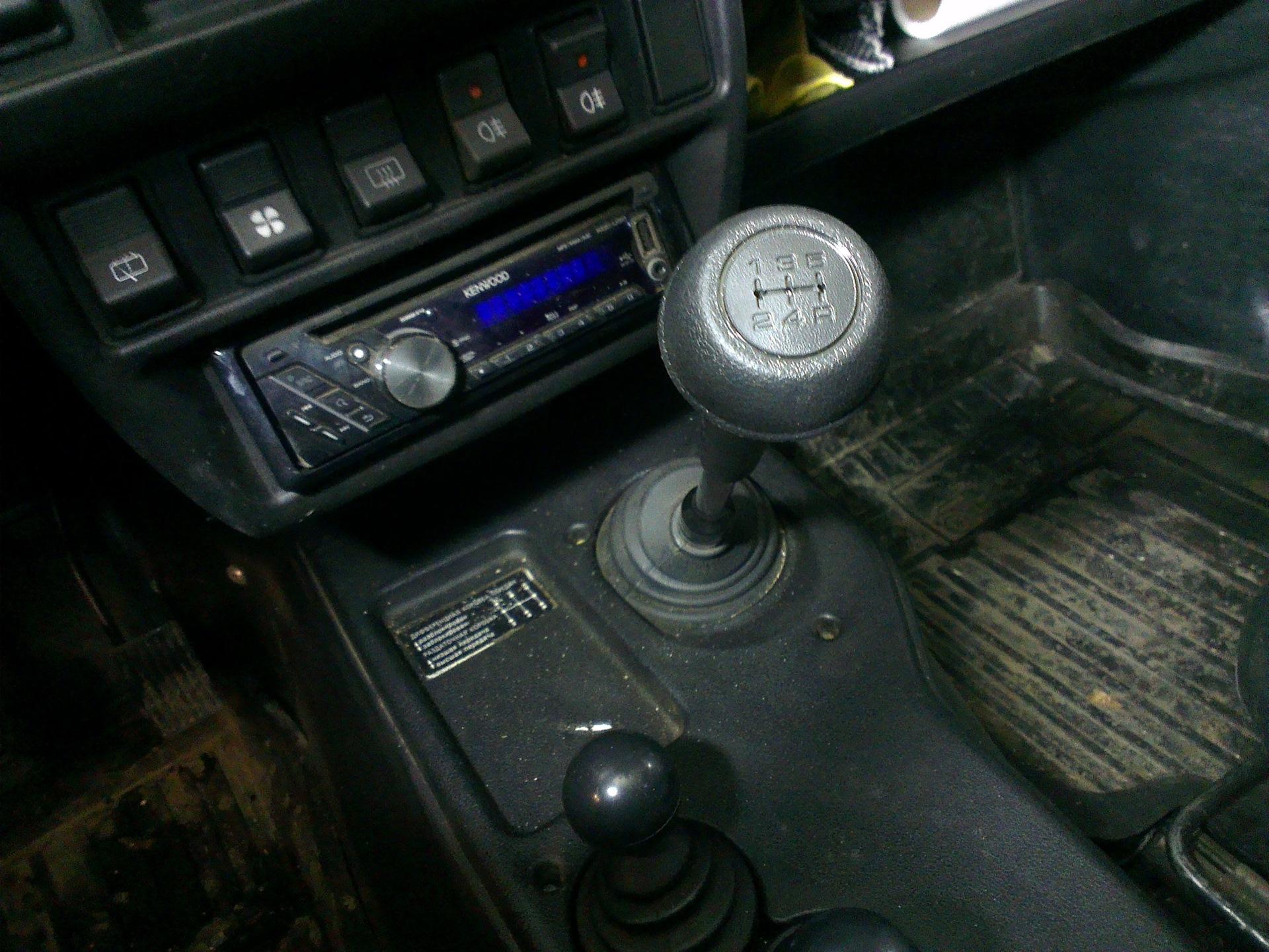 Рычаг коробки передач