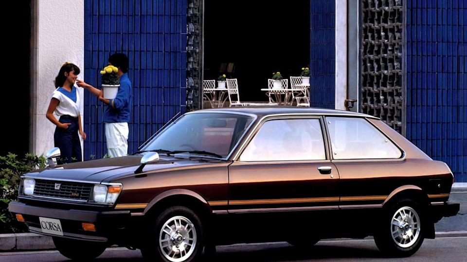 Toyota Corsa 1980 год