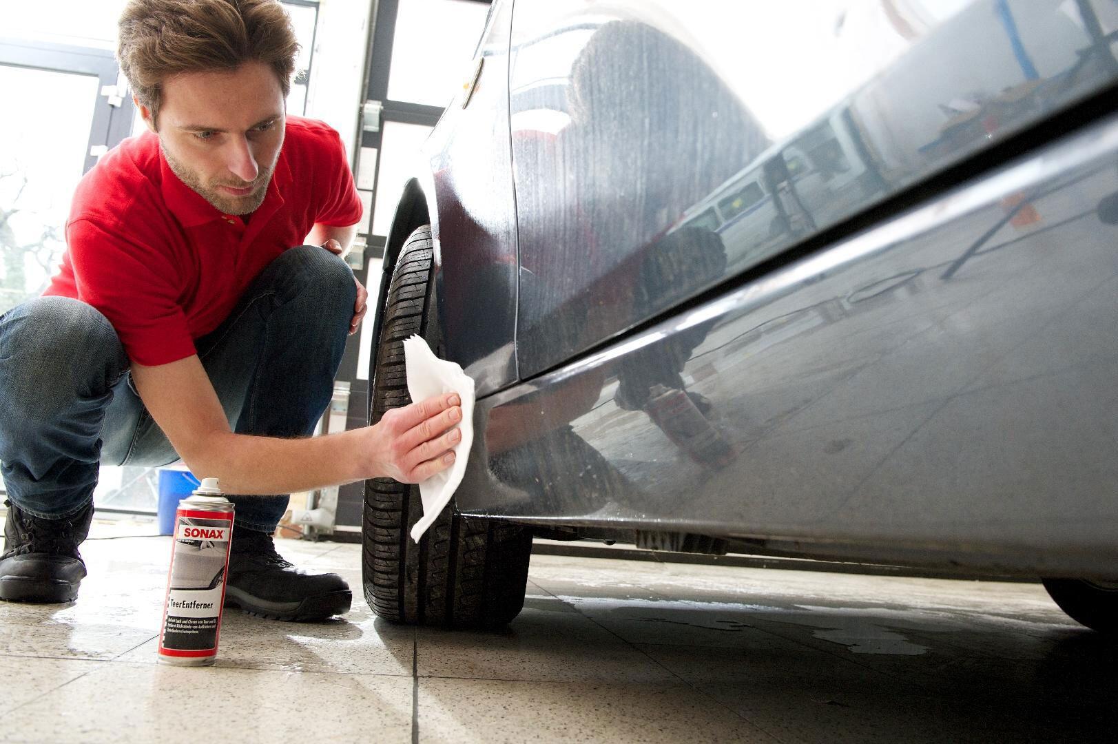 Зачистка поверхности на авто