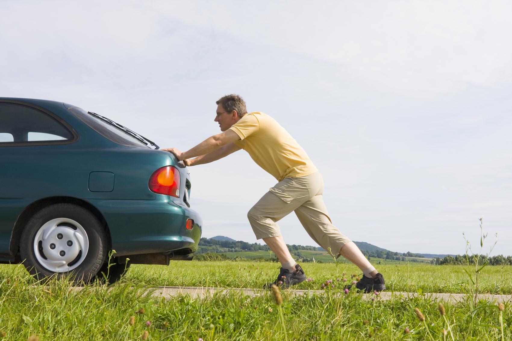 Завести автомобиль