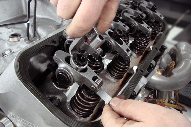Зазоры клапанов двигателя