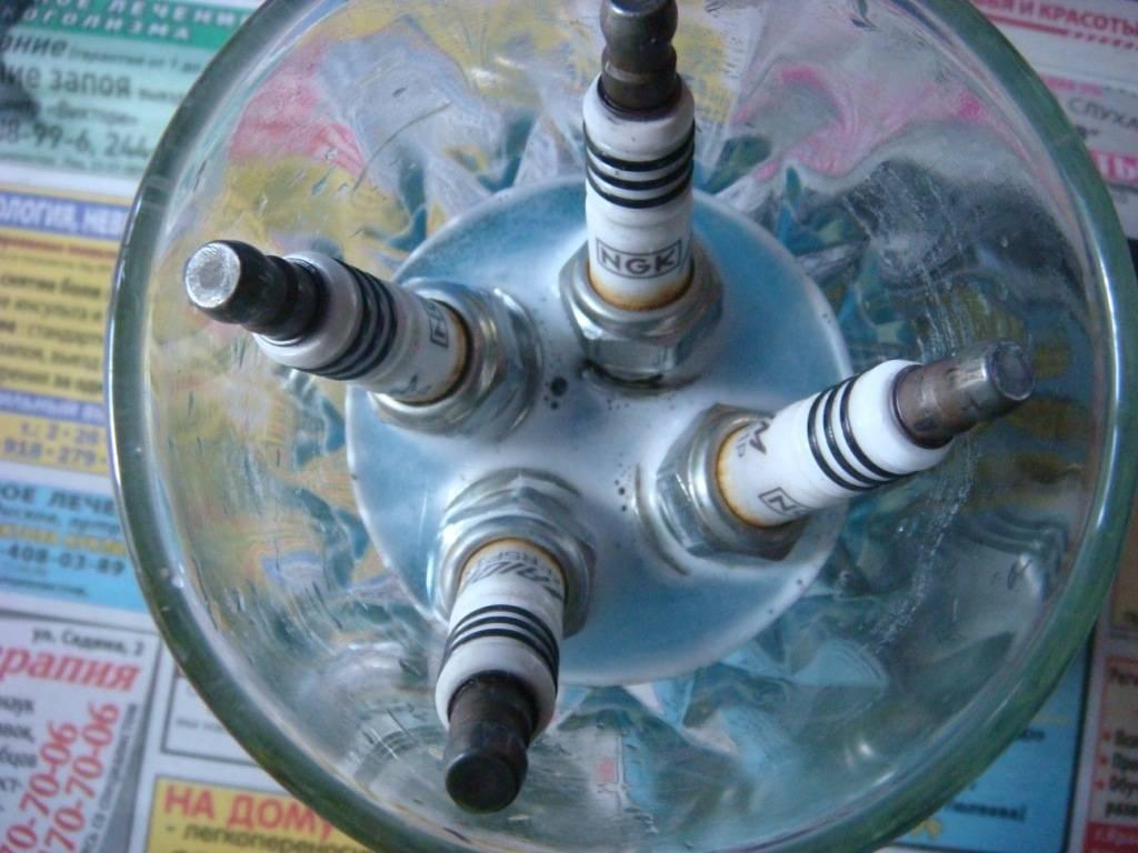 Чистка автомобильных свечей