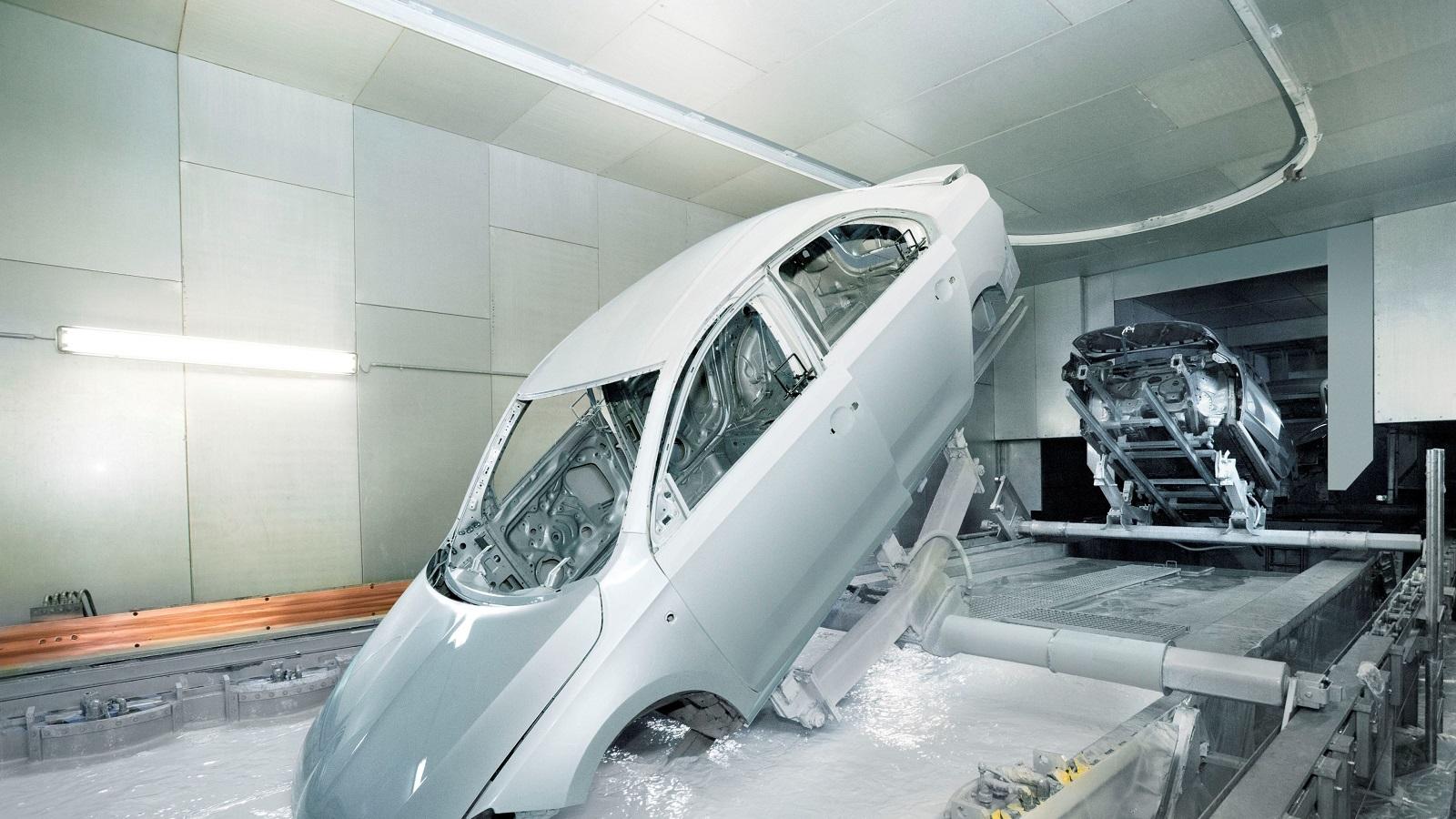 Цинкование кузова автомобиля на производстве