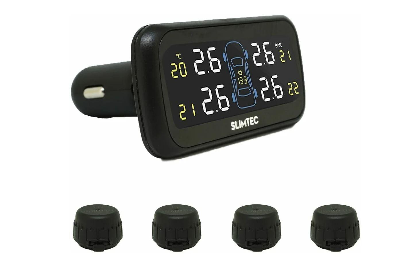 Датчик внешний электронный Slimtec TPMS X4