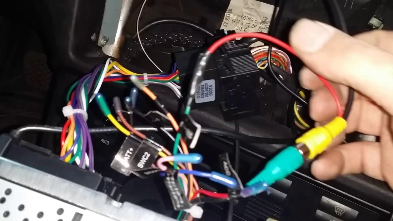 Электроника камеры заднего вида авто