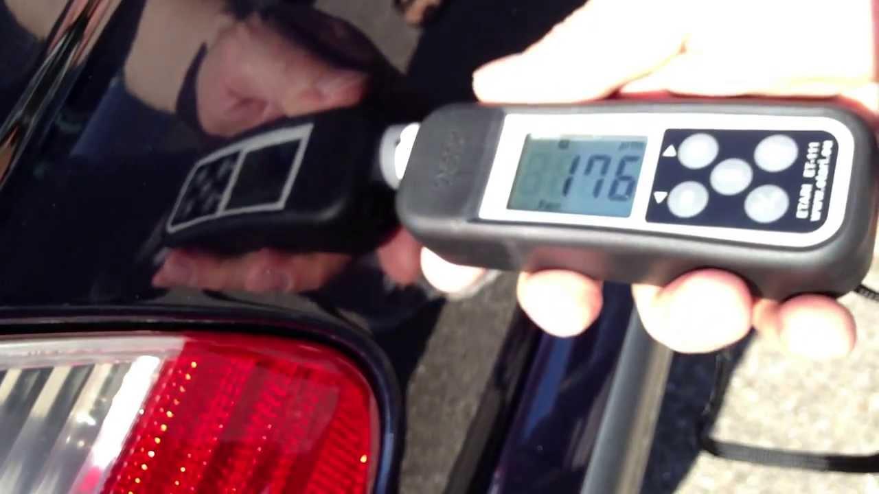 Измерение краски автомобиля