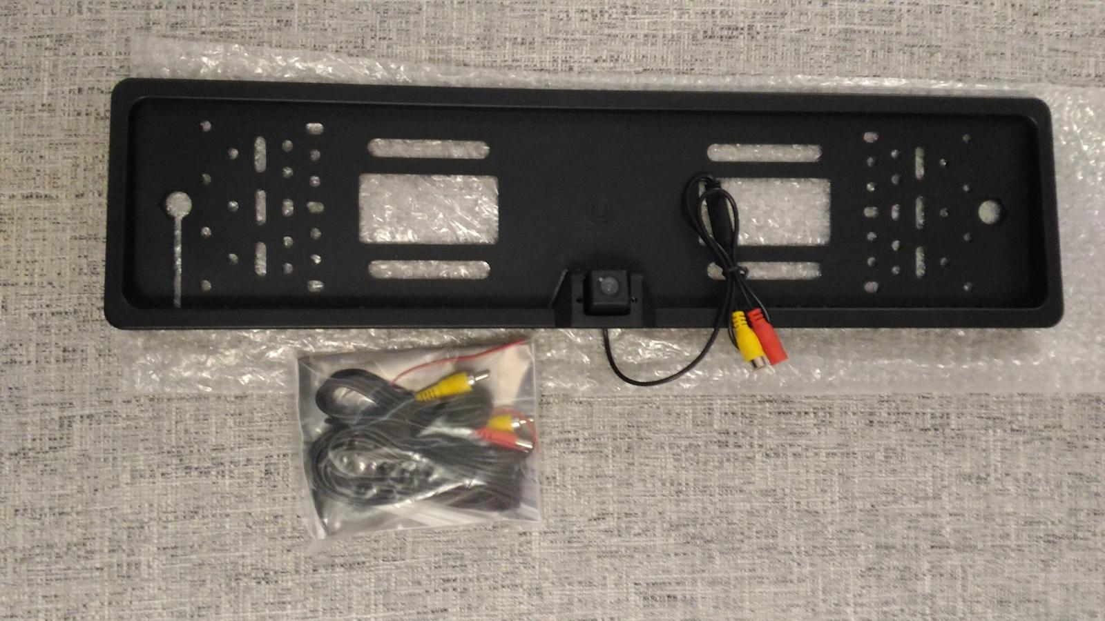Камера JX-9488 для номерного знака с подсветкой