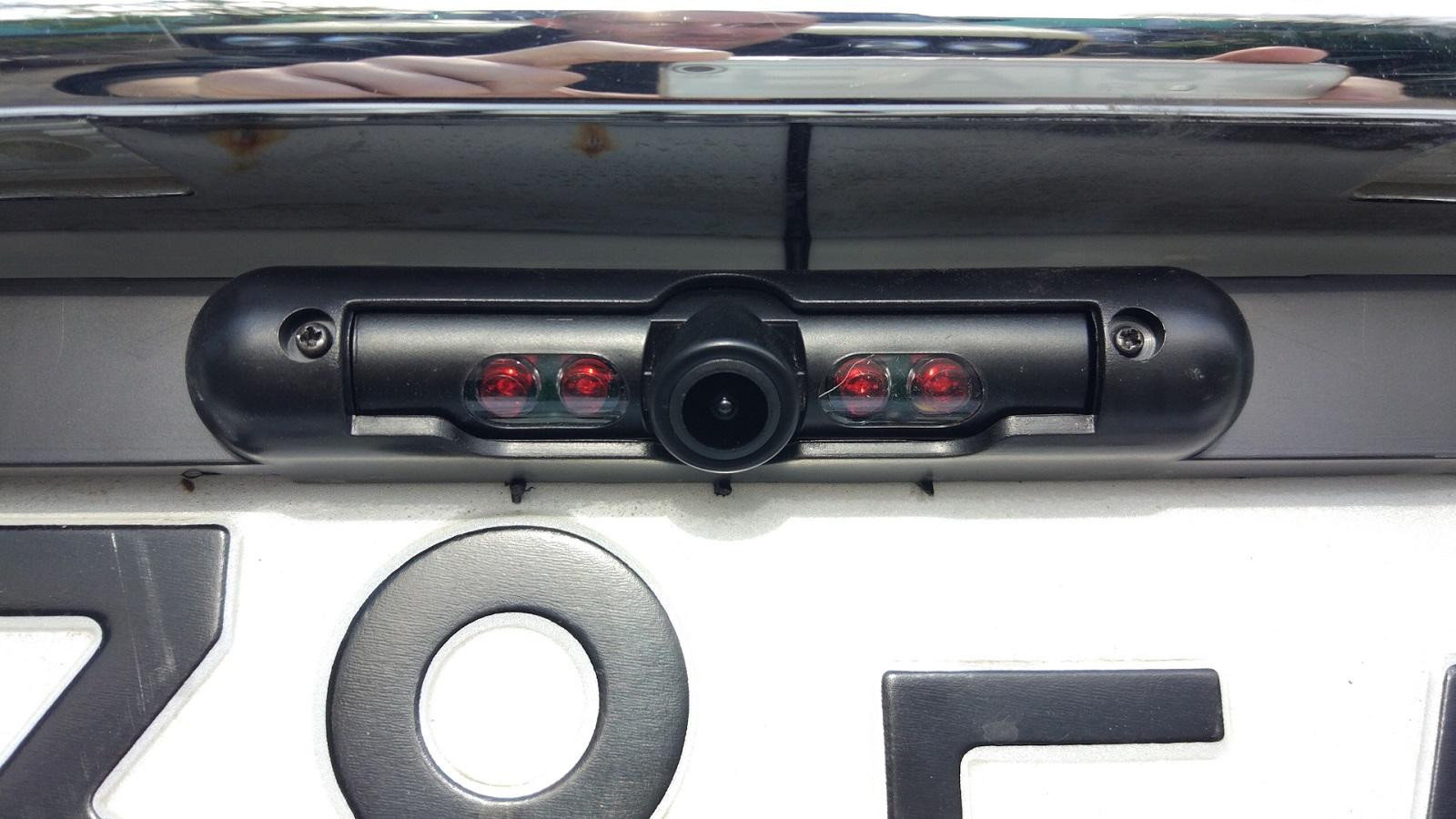 Камера заднего вида AURA RVC-4207