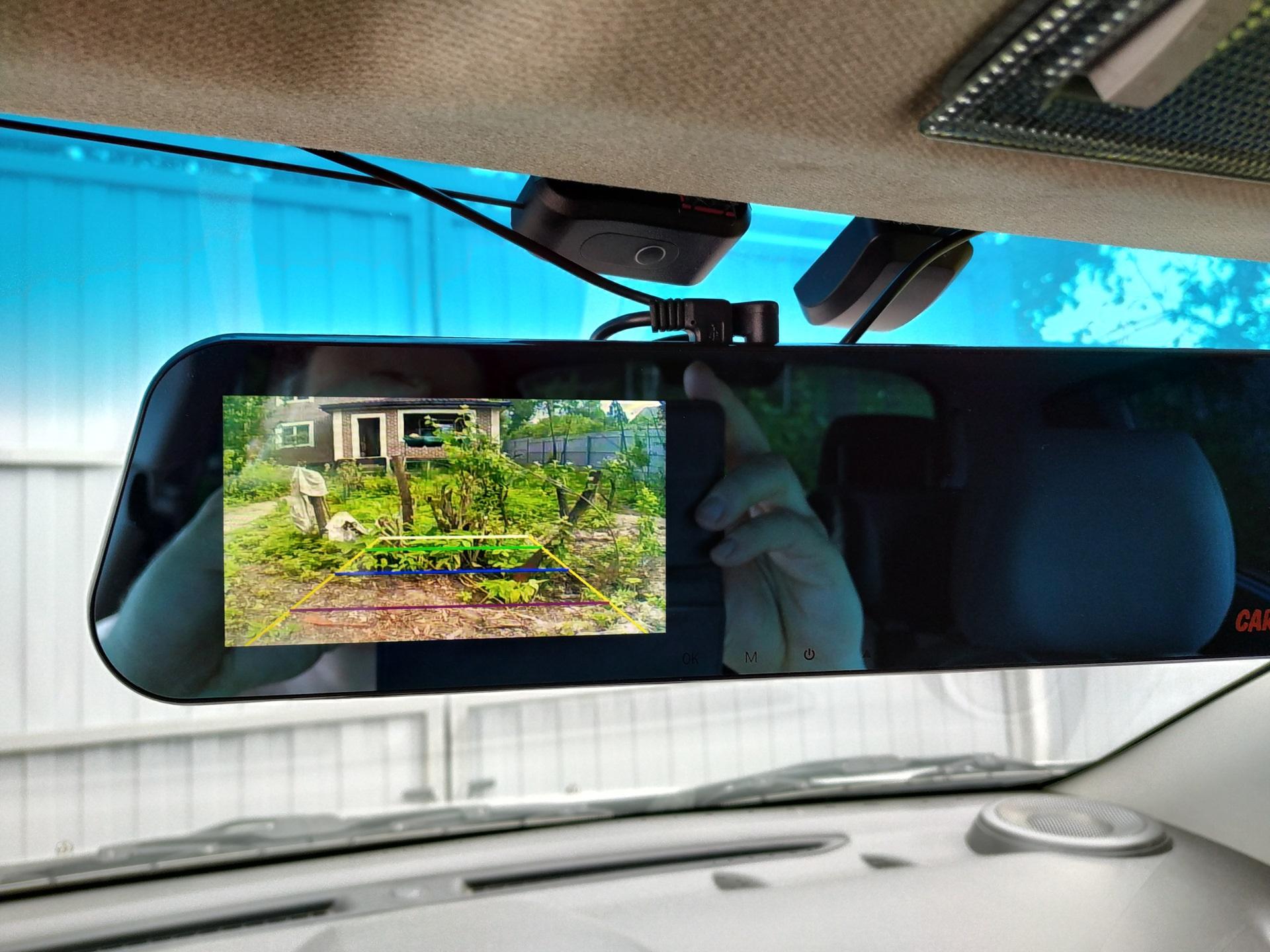 Камера заднего вида автомобиля