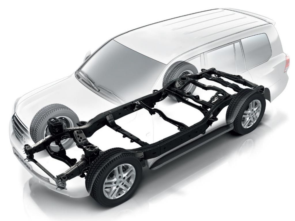 Конструкция рам автомобилей