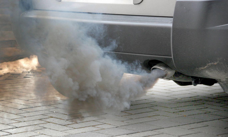 Неполадки в двигателе дым из трубы