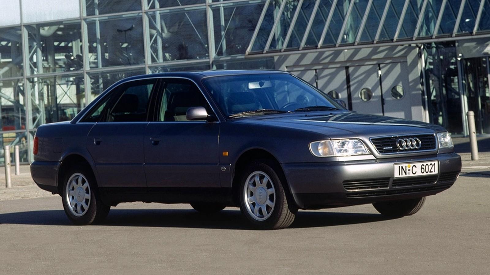 Новая Audi A6 C4