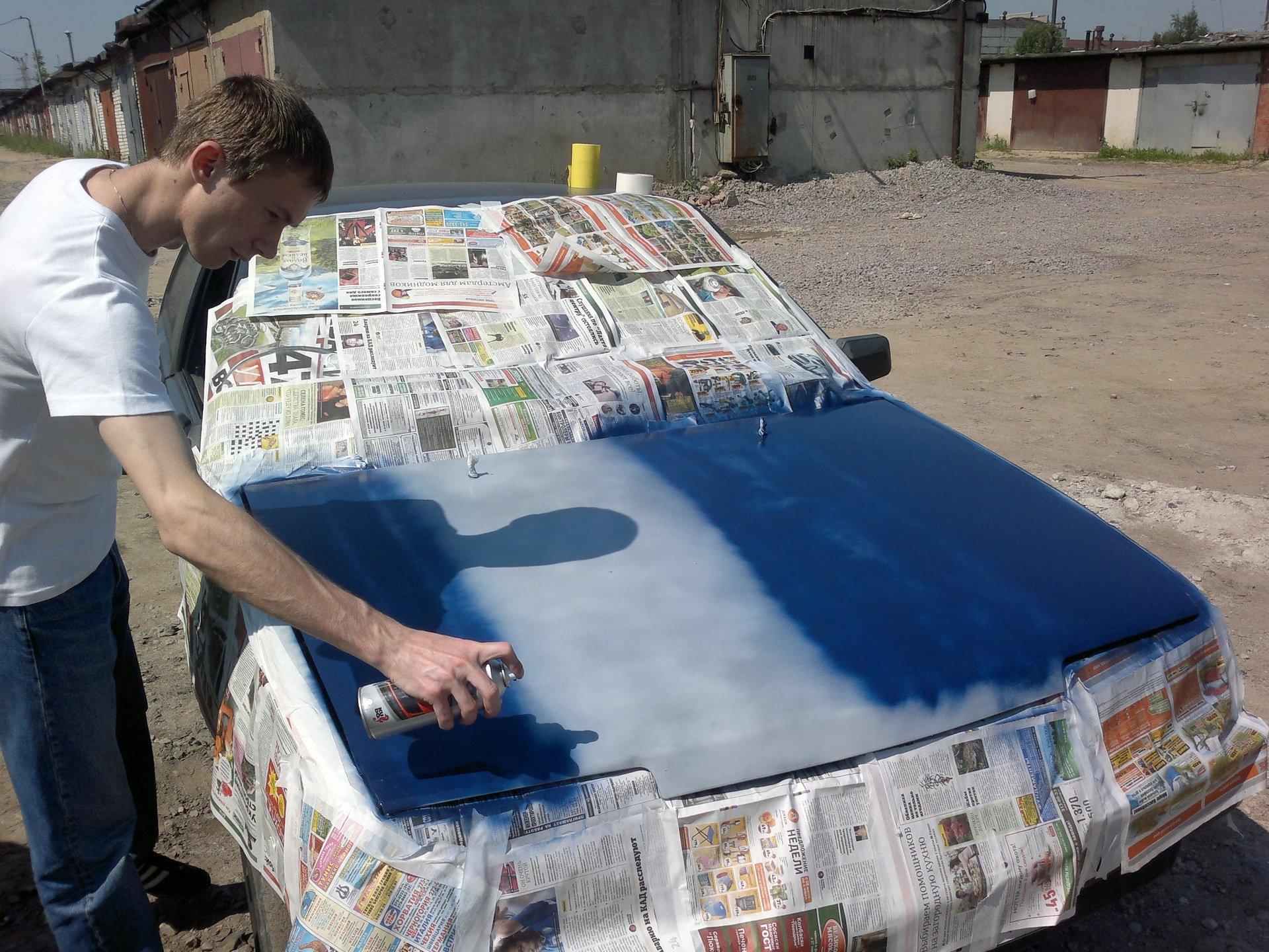 Подготовка к грунтовке кузова