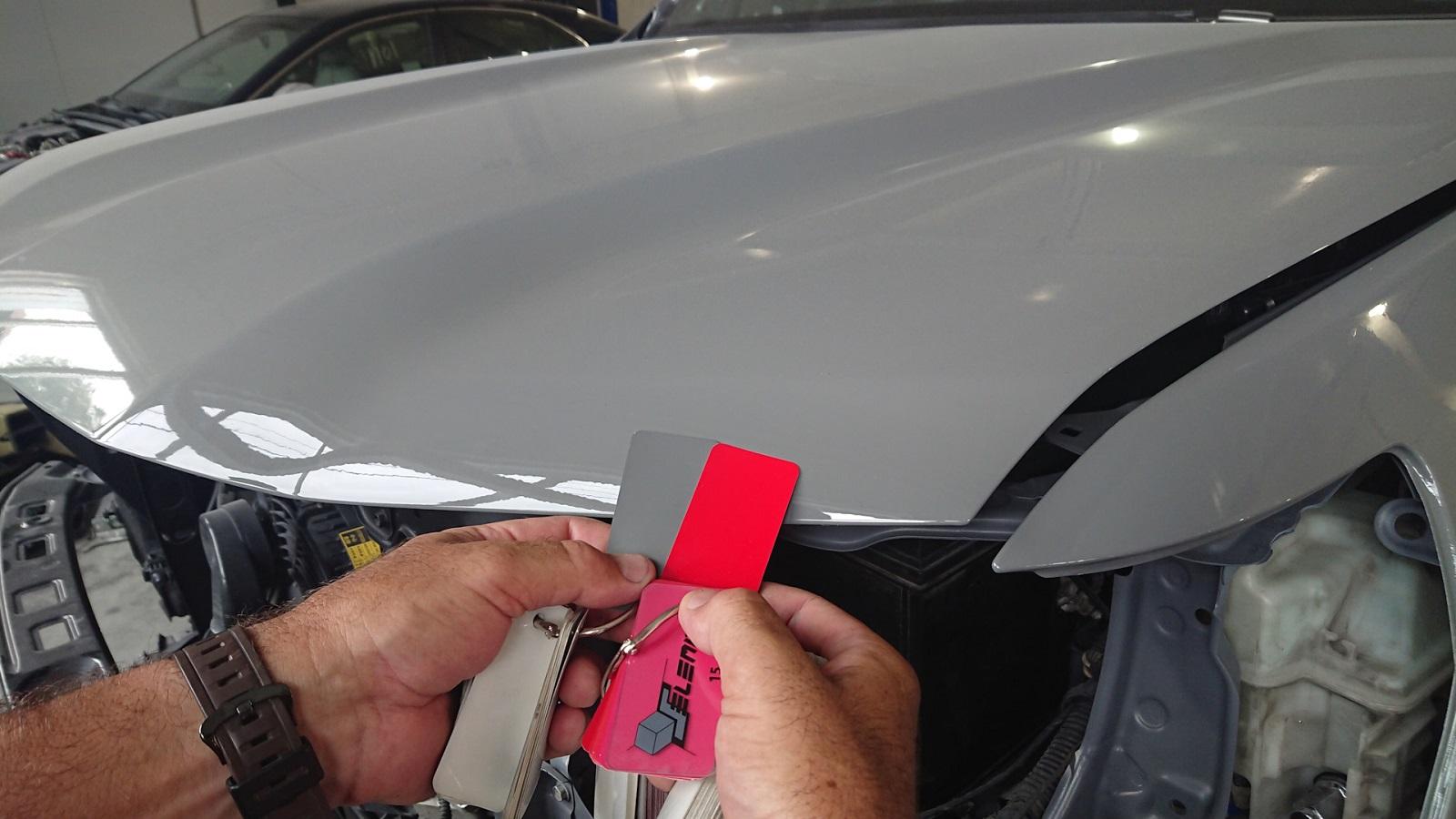 Подготовка кузова из нержавеющей стали к покраске