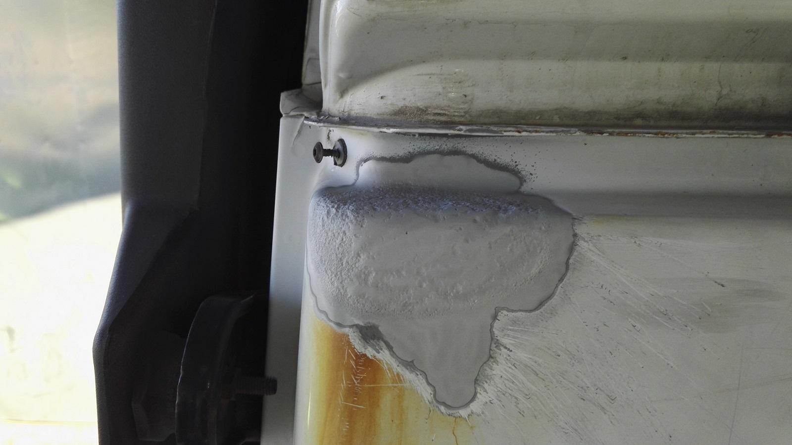 Покрытие кузова автомобиля оцинковкой
