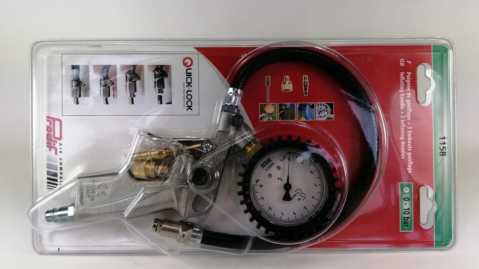 Прибор для подкачки шин Metabo RF 60