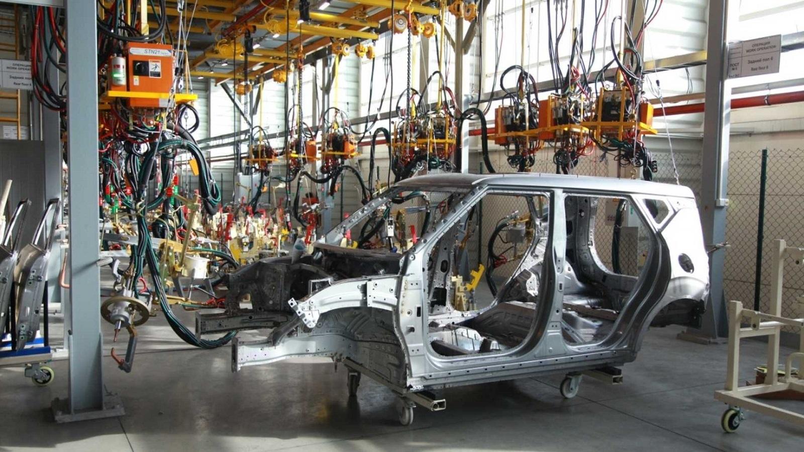 Производство китайских автомобилей на российских заводах