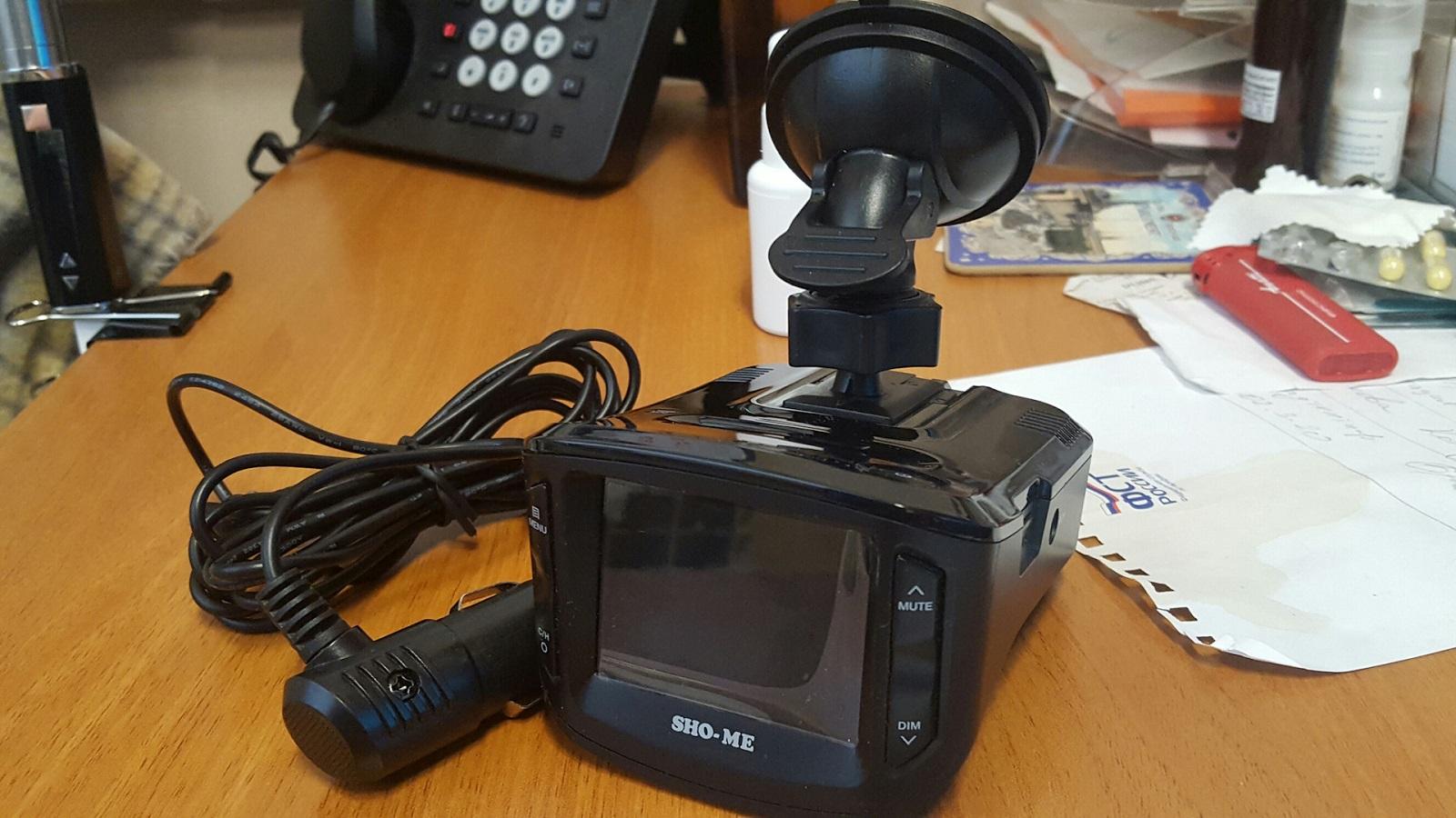 Видеорегистратор с детектором Daocam Combo wifi 2ch