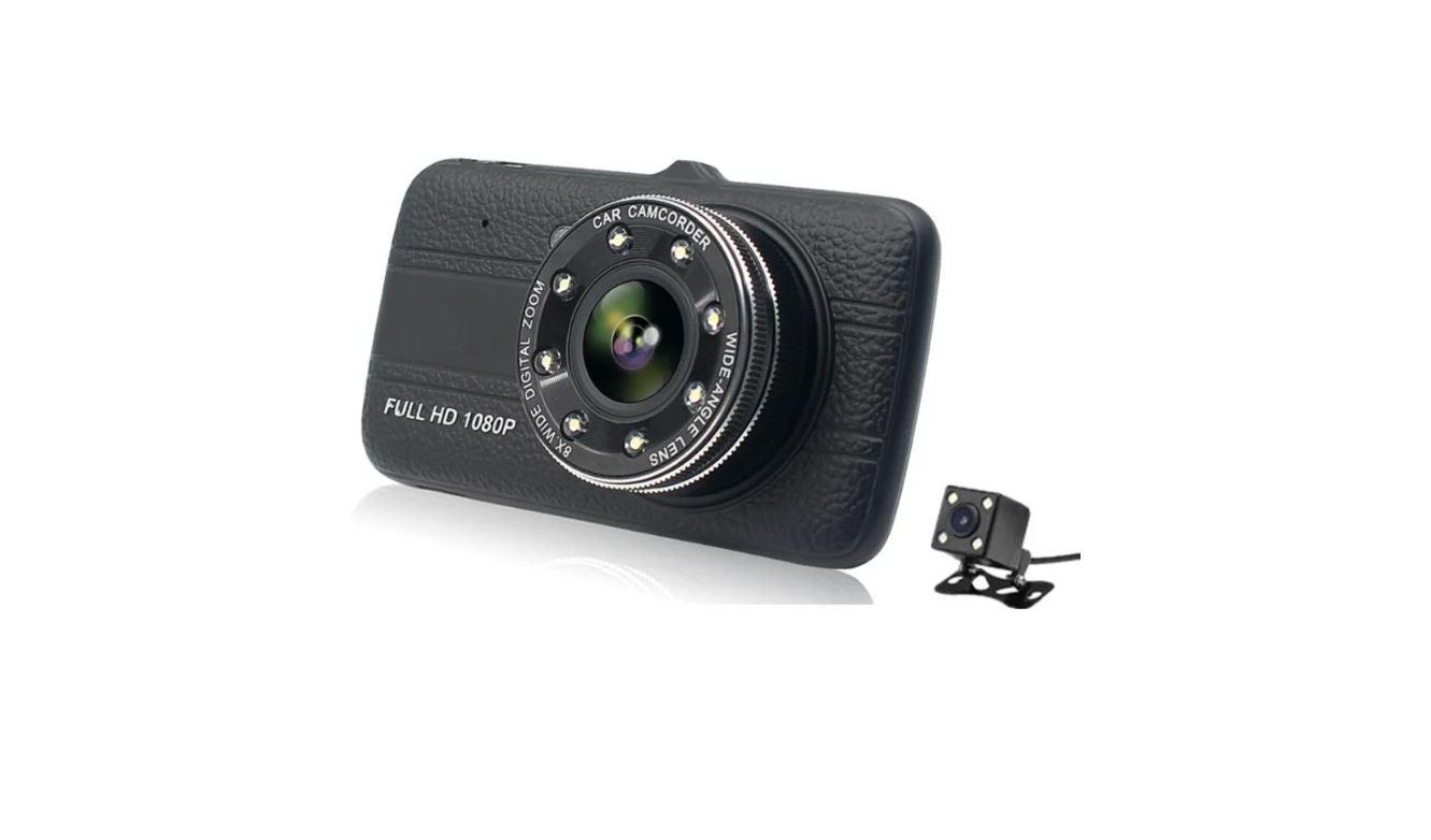 Видеорегистратор с камерой заднего вида 4.0