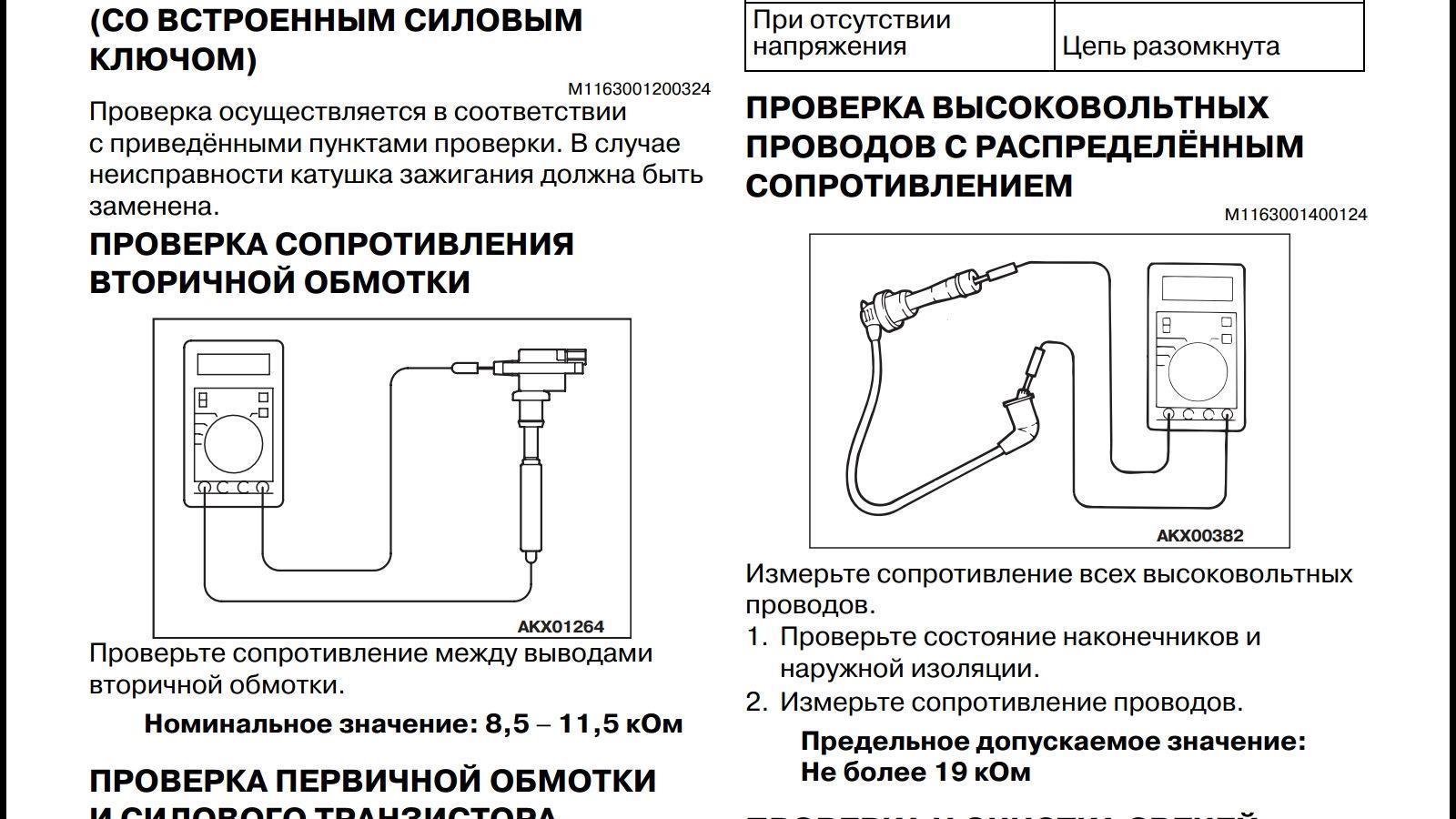 Как проверить провода свечей зажигания